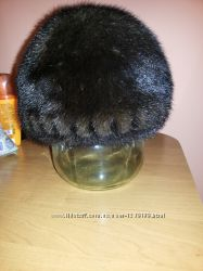 Красивая норковая шапка