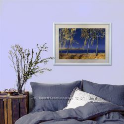 Картина Вид с Труханова острова. Осень