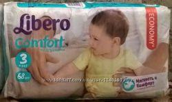Подгузники памперсы Libero Comfort Midi 3 mega pack