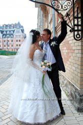 Свадебное платье итальянского пошива