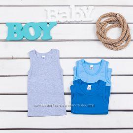 98-164  Майка для мальчика мод. 301 от  тм Фламинго-текстиль
