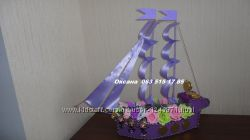 Корабль с конфетами и мартини