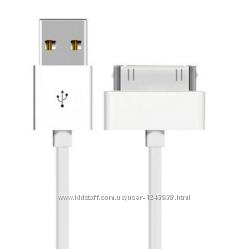 USB шнур для Apple iPhone 3GS44S , iPad 23 , iPod nano.