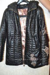 Куртка кожаннаяСостояние отличное