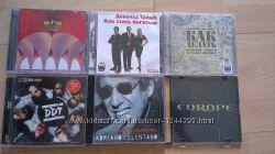 Диски музыкальные,  аудиокниги. 5-10грн