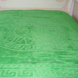 Простынь махровая на кровать 200х220 см