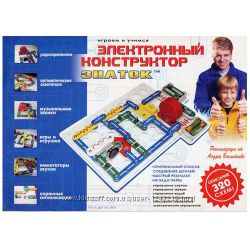 Конструктор ЗНАТОК 320 схем REW-K002