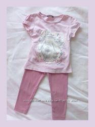Костюм 92-98 набор комплект на девочку 2-3-4 лет Англия