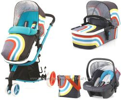 New Cosatto Giggle 3в1 коляска travel system цвет new wave