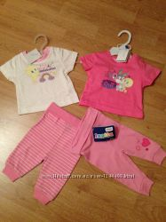 Ползунки и футболки для новорожненных Lypily