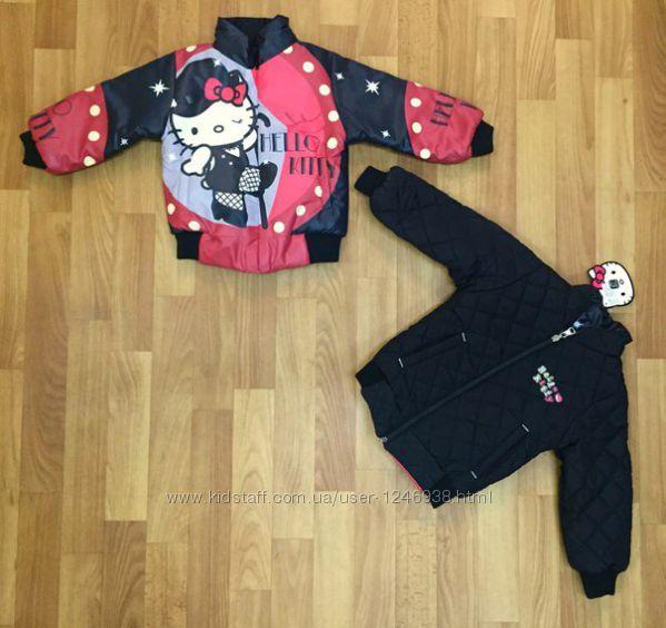 Куртки на девочку, Куртки детские от 1 до 8 лет. Турция