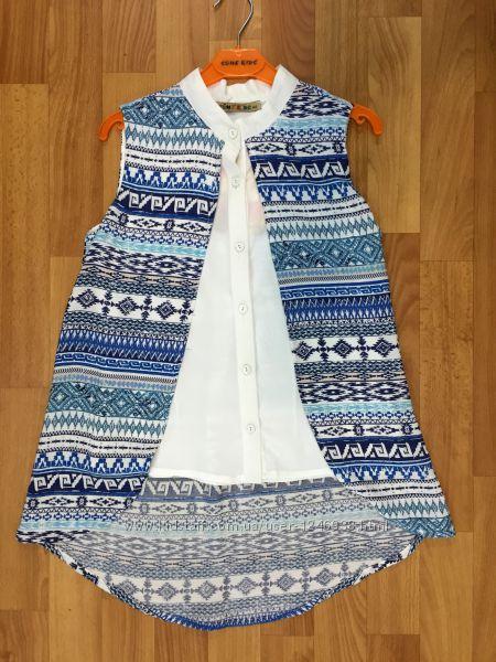 Блузки, футболки для девочек Турция