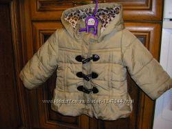 Красивые курточки Hello Kitty маленькой моднице 1-3 года