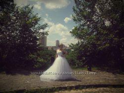 Свадебное платье ручная работа в единственном экземпляре для ярких девушек