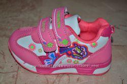Новые яркие кроссовки, размер 23