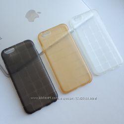 Силиконовый чехол  3D плитки на iPhone 55S, 66S