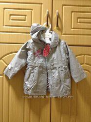 Новая куртка цвет-серебро Juniors на 1. 5 года