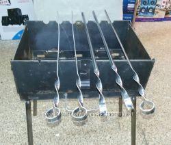 Мангал-чемодан на 6-8-12 шампуров, Украина низкие цены