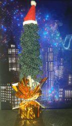 Вязаная ёлочка  замечательный новогодний сувенир