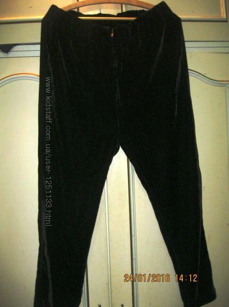 Нарядные черные стильные брюки М размер