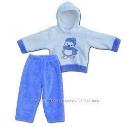 Теплые комплекты для мальчиков и девочек до 3-х лет, три модели