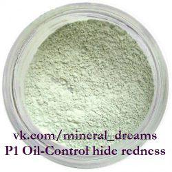 Минеральный праймер для лица P1 Oil-Control hide redness primer