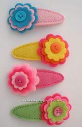 Эксклюзивны украшения из фетра для маленьких принцесс