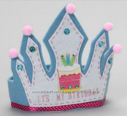 Очаровательные короны и маски на утренник из фетра для ваших принцесс