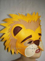 Необычные карнавальные маски для утренников