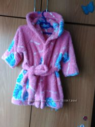 Махровый халат на девочку