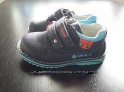 туфли для мальчиков на липучке р-р 21-26