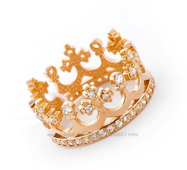 Золотое кольцо корона цена россия