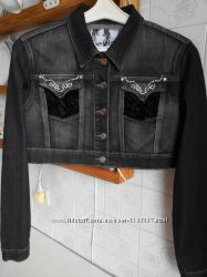 Куртка джинсова коротка нова