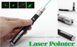 Лазер зеленый, лазерная указка.
