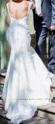 Продам гипюровое свадебное платье
