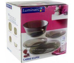 Столовый сервиз Carine Eclipse 19 предметов Luminarc