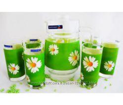 Кувшын и 6 высоких стаканов LUMINARC
