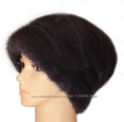 Женская норковая шапка Стелла Роза, ирис