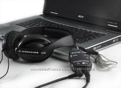 Behringer UCG102 ASIO USB интерфейс GUITAR LINK адаптер для подключения ги
