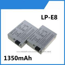 Аккумулятор LP-E8 1350mAh для Canon 550D 600D 650D 700D 750D EOS Rebel T2i