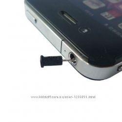 iOs Android заглушка отверстия наушников Anti-dust earphone Apple Samsung