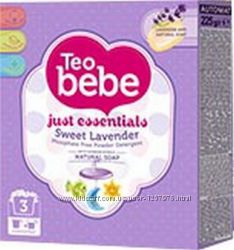 Детский стиральный порошок Teo Bebe лаванда, 400 г