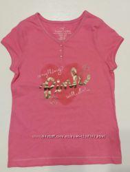 Новая фирменная футболка Faded Glory 100 коттон на 7-8 лет
