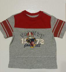 Новая фирменная футболка Faded Glory на 2-3 и 3-4 года, 100 коттон