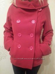 Стильное пальто полупальто демисезонное р 44