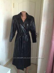 Пальто женское элегантное кожа, Италия