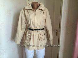 Куртка женская стильная демисезонная с капюшоном traum collection, Англия