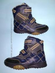 Деми ботинки Alive на флисе утеплённые 28 р-р для мальчика