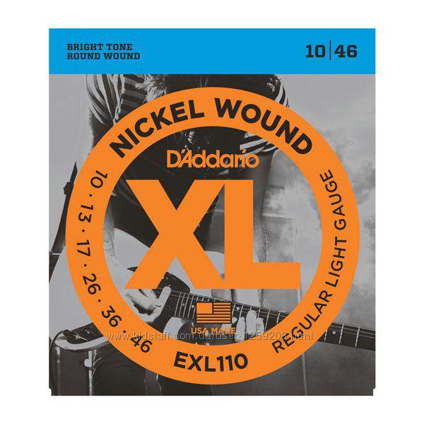 Мега струны для электрогитары DAddario EXL110 1046.