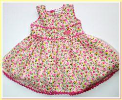 602   Платье хлопковое на 12, 24 и 36 мес